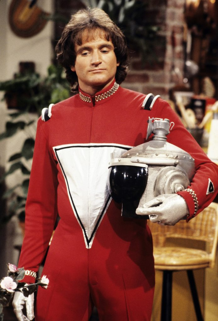Robin Williams en Mork & Mindy