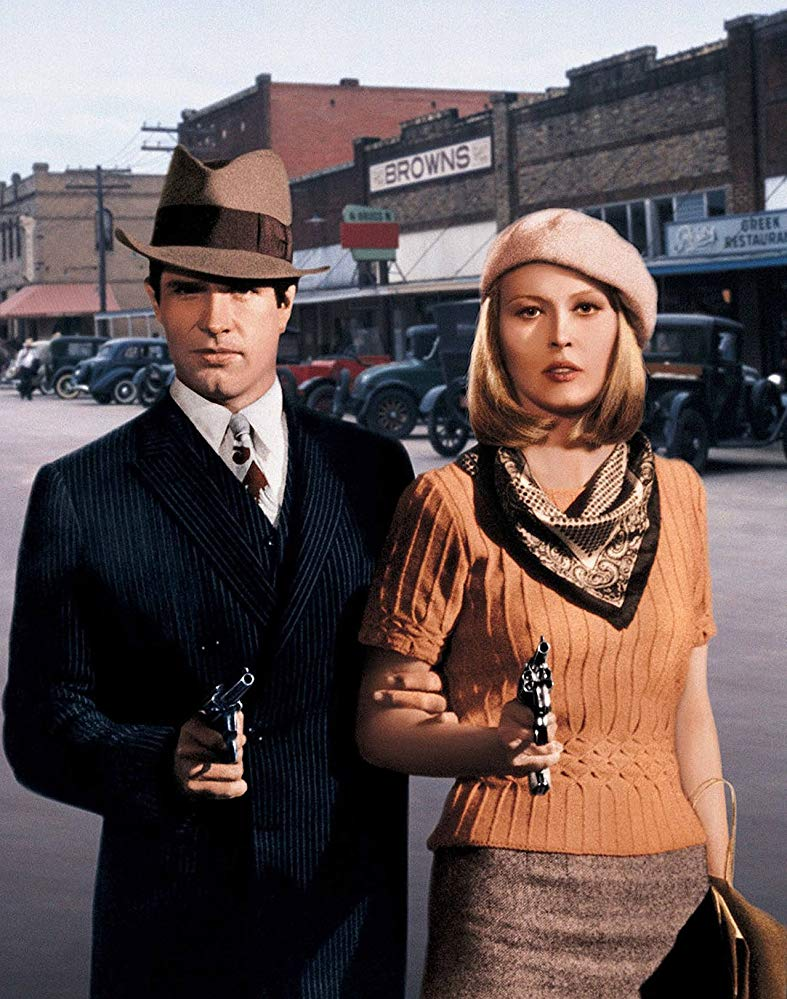 one upon a time in hollywood bonnie and clyde