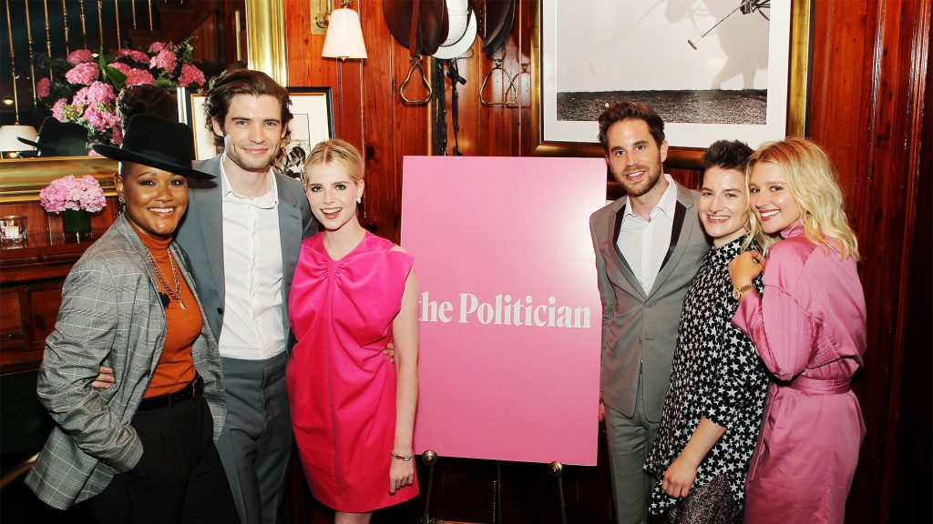 El elenco de The Politician