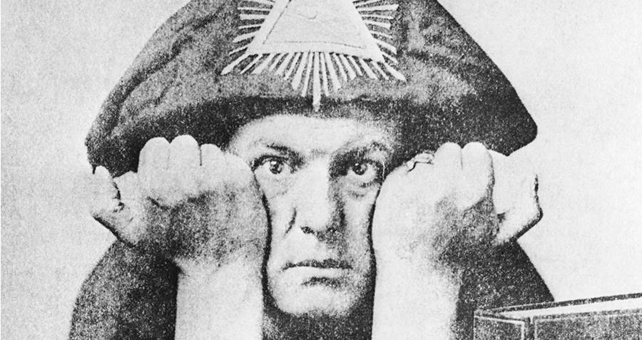 Aleister Crowley en el rock and roll