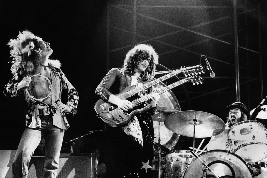 Led Zeppelin  rock and roll