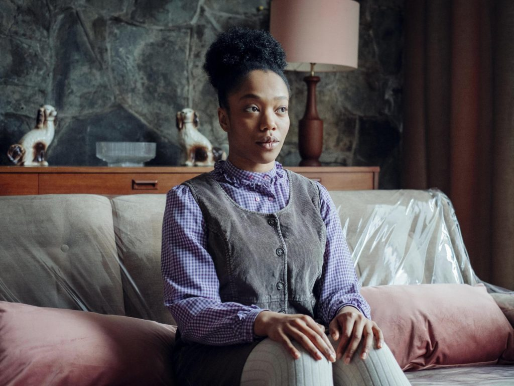 Naomi Ackie como Bonnie en The End of the F***ing World