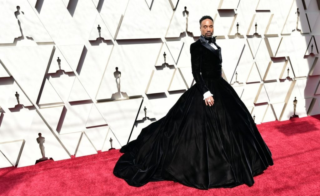 Billy Porter en Christian Siriano