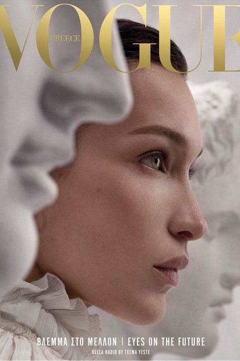 Vogue Grecia Bella Hadid