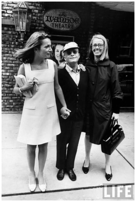 La princesa Lee Radziwill, Truman Capote y Jane Howard